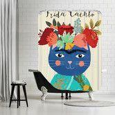 Found it at AllModern - Frida Catlho Shower Curtain