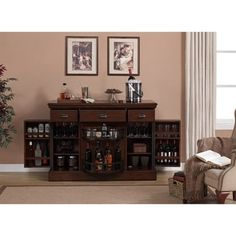 Shop for Gayle 52-inch Home Bar. Get free delivery at Overstock.com - Your Online Furniture Shop! Get 5% in rewards with Club O! - 14936384