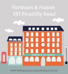 {   Fortnum & Mason es uno de los paraisos gastronómicos de Londres   }  #Fortnum's #Delicatessen #Londres