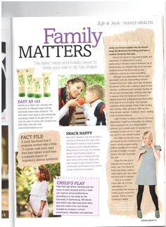 Natural Health Magazine has featured ABC Arbonne Baby Care® in the latest issue of their magazine