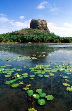 Sigiriya (Lion Rock), Sri Lanka.