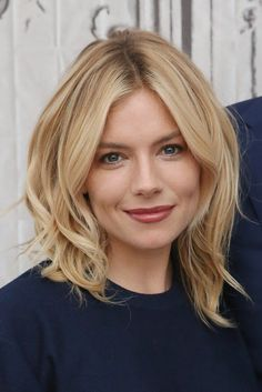 Pin for Later: 22 Blonde Bobs and Lobs to Inspire Your Summer Haircut Sienna Miller