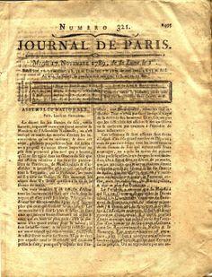 Le journal de Paris par Romain&Raphaël