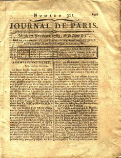 Le journal de Paris par Romain&Raphaël