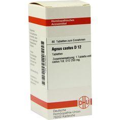 AGNUS CASTUS D 12 Tabletten:   Packungsinhalt: 80 St Tabletten PZN: 02624609 Hersteller: DHU-Arzneimittel GmbH & Co. KG Preis: 5,95 EUR…
