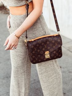 Designer Items Worth The Splurge | Louis Vuitton Pochette Metis | Blondie in the City by Hayley Larue