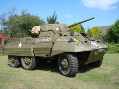 """Fully Restored WW2 M8 Greyhound Armoured Car Nicknamed """"Nina Chiquita"""": For Sale or Hire!!!"""