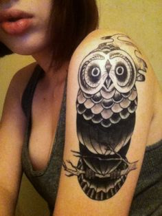i really want an owl tattoo..not exactly this one though
