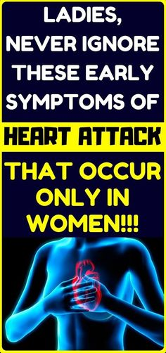 Health and fitness: 6 Symptoms Of A Heart Attack That Occur Only In Women