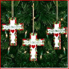 religious christmas crafts - Religious Christmas Decorations To Make