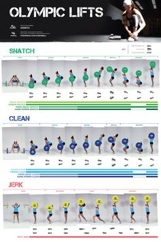 Olympic lifts Crossfit PUSHPRESS.COM/FUBARBELL