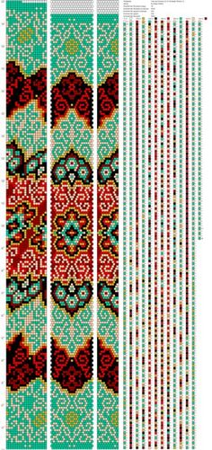 Hand Made by Lilu Cool Bead Crochet Patterns, Beaded Jewelry Patterns, Peyote Stitch, Cross Stitch, Crochet Rope, Beaded Crochet, Bead Weaving, Beads, Handmade