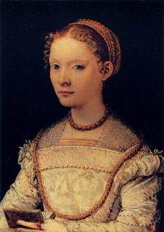 SAN FRIANO, Maso da Portrait of Elena Gaddi Quaratesi 1550s