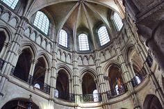 Inside the Notre Dame de Noyon, France