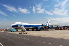 Air Bridge Cargo Boeing 747 freighter at UIO