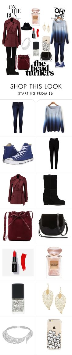 """Different versions of me"" by unitaiyo ❤ liked on Polyvore featuring Levi's, Converse, EAST, Proenza Schouler, CHUCKiES New York, Mansur Gavriel, Rebecca Minkoff, Giorgio Armani, Lane Bryant and Messika"