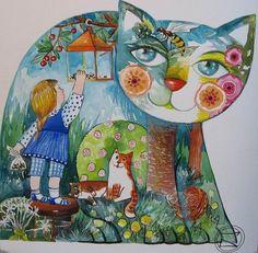 Cats in Art & Craft: Oxana Zaika