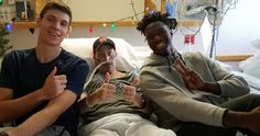 Why one family will 'never be able to repay' Wisconsin Badgers star Nigel Hayes for his holiday kindness