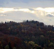 Turmberg im Herbst von Jasardpu