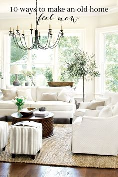 10 ways to make an old home feel new
