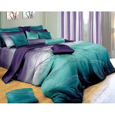 Teal Bedding Sets, Cotton Bedding Sets, Queen Bedding Sets, Luxury Bedding Sets, Bedroom Sets, Comforter Sets, Teal Bedrooms, Modern Bedrooms, Colors