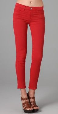 I tried to wear red pants every day of the first grade. Perhaps it's time.