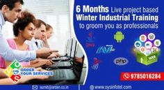 Get the job assurance 6 month winter industrial training in Jaipur