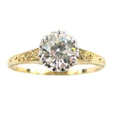 Gorgeous vintage ring from the 1890s. Just love this.