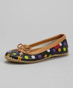 Look at this #zulilyfind! Navy Dot Duck Shoe - Women by Chooka #zulilyfinds