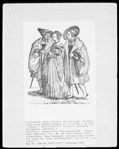 https://flic.kr/p/bsKzRz | Schaufelein, Hans Leonhard 1535 The Bride and her Brautfuhrern
