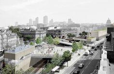 East's urban design study for Farringdon, London