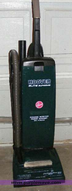 Vintage Hoover Concept One Power Drive Upright Vacuum