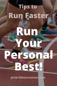 Do you want to run faster? Try these 7 tips to train for your best running time. Speed Workout, Workout Splits, Aerobics Workout, Track Workout, Workout Schedule, Running Workouts, Running For Beginners, How To Start Running, How To Run Faster
