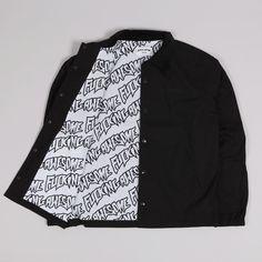 Fucking Awesome Coaches Jacket Black