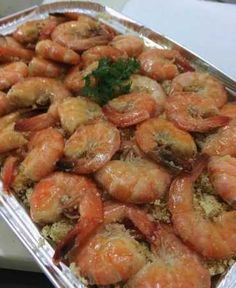 A classic New Orleans delight. Be sure to serve this one-skillet shrimp dish with lots of French bread to soak up the tasty sauce. Add Zatarain's. Shrimp Dishes, Shrimp Recipes, Fish Recipes, Gourmet Recipes, Cooking Recipes, Healthy Recipes, Crockpot Recipes, New Orleans Bbq Shrimp, Barbecue Shrimp