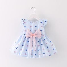 151627be44a Baby Dress - LouLi Sing To Me Little Sparrow Baby Dress Summer Baby
