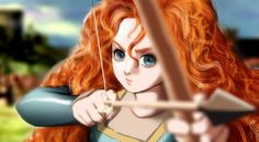 merida from brave   hope you love it if you want coloring steps can tell me in my patreon   used: photoshop CS 2  Be come my patreonGallery  www.patreon.com/esther   Twitter twitter.com/estherfanworld Facebook My Facebook  What you want me to draw next? Please Vote  Hug  Follow me please reblog from my tumblr  esther-36.tumblr.com/