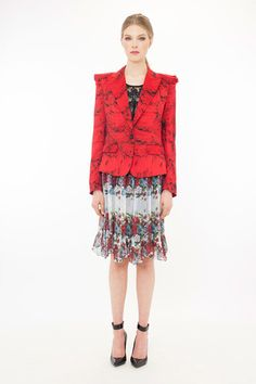 Trelise Cooper Red Riding Jacket