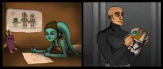 OMG! Love it! But this is sad. Really sad if you've seen the Umbara episodes