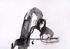 30 x 21 cm ink on paper Canson  Sylvia Baldeva®