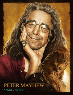 Rest In Peace fuzzball, you'll live forever on a galaxy far far away. I made this little tribute for the great and only Peter Mayhew. Star Wars Day, Star Wars Film, Peter Mayhew, Best Sci Fi, Star War 3, Chewbacca, Stargazing, Far Away, American Actors