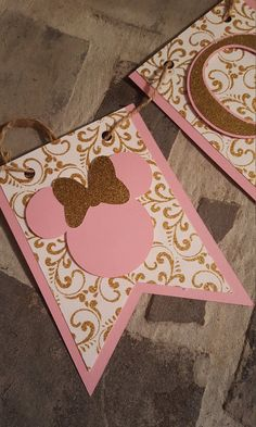 and gold first birthday*pink and gold minnie mouse*pink and gold high chair banner*pink and gold age banner*pink and gold party decor Minie Mouse Party, Minnie Mouse 1st Birthday, Gold First Birthday, Minnie Mouse Theme, Minnie Mouse Baby Shower, First Birthday Banners, Mickey Party, 1st Birthday Parties, Birthday Banner Ideas