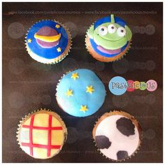#pastelicious #cupcakes #toystory #panques
