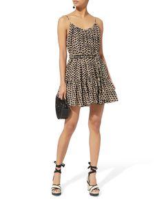 Nala Leopard Mini Dress, BEIGE, hi-res