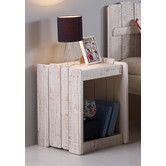 Cabin Lofted Bed with Storage #birchlane