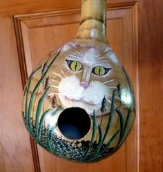 Cat Birdhouse Gourd Design on hand decorating gourds, cat pumpkins, cat blue eyes, owl gourds, dog gourds, different gourds, flamingo gourds, cat gourd art, witch gourds, ornaments from gourds, apache gourds, cat bird houses, chicken gourds, bear gourds, primitive gourds, bird gourds, cat bird seat, funny gourds, frog gourds, cheap dried gourds,