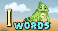 I words - An exciting video that will teach toddlers words beginning with the alphabet I.