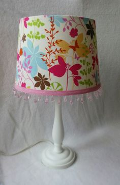Woodland Floral Lamp Shade By SunnyBeginnings On Etsy
