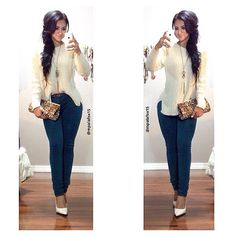 Mpalafox15 Sweater: Thrift store | Pants: Fashion Q | Heels: Shoelicious | Clutch: Dd's |