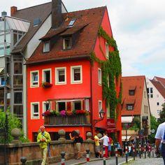 Cafe in Nurnburg, Germany (photo by Paul Pendola)